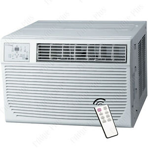 25000 Btu Window Air Conditioner W 16000 Btu Heater 1500