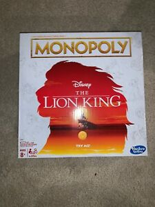 Details about THE LION KING Monopoly Board Game Special Edition w/Simba  Nala Tokens