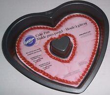 WILTON VALENTINE HEART SHAPED NON-STICK CAKE PAN