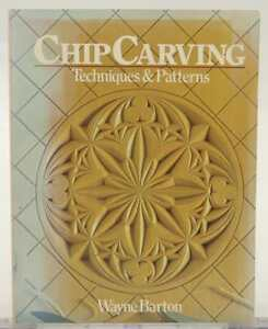 Chip carving 1984 wayne barton techniques & patterns woodworking