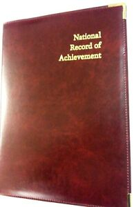 PU-LEATHERETTE-TOP-QUALITITY-NATIONAL-RECORD-OF-ACHIEVEMENT-A4-FOLDER