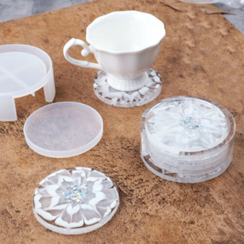 Mould DIY Craft Resin Casting Molds Irregular Wave Coaster Mold Silicone Epoxy