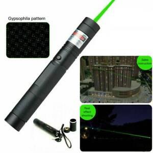 532 nm 50 Miles Pointer Pen Burning Green Light USA High Power Laser A6914