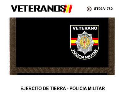 POLICIA MILITAR VETERANOS EJERCITO DE TIERRA MONEDEROS MILITARES