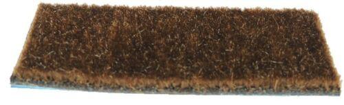 """HAIR RUG ARROW REST SUPERHAIR Bear Style Traditional Archery NEW 4/"""" x 4/"""" Brown"""