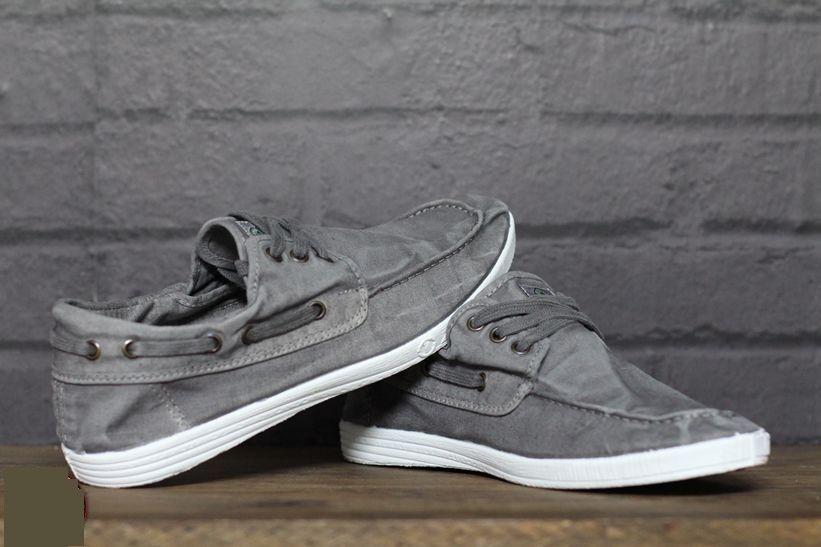 NATURAL WORLD ECO NAUTICO ENZIMATICO SHOE shoes ECOLOGICO ORIGINAL grey 303E