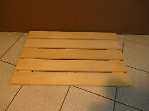 Sauna Boden Bodenrost 53 X 80 Cm Fussrost Holz Bodenbelag Saunaboden