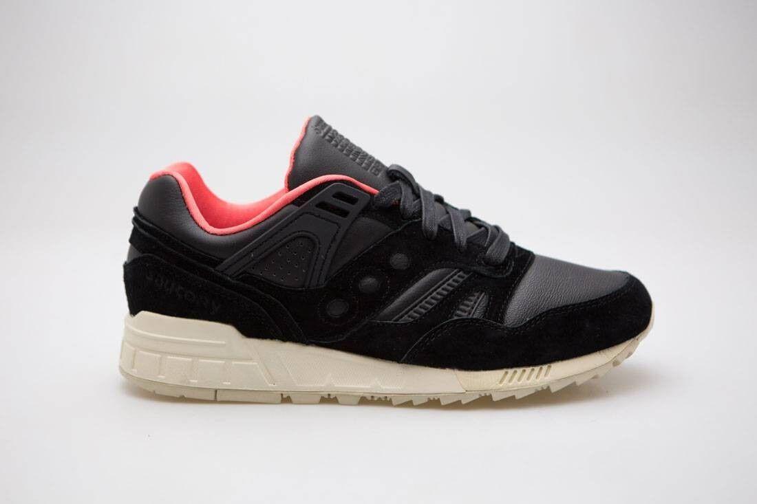 Saucony Grid SD premium para hombre Boston Negro Zapatillas S70263-3