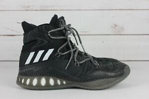 Details about Adidas Crazy Explosive Men's Black White Sz 8.5 High Basketball Shoes B42421