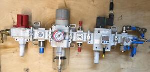 SMC aw40-f04 aire comprimido unidad de mantenimiento filtro Regulador regulador de filtro