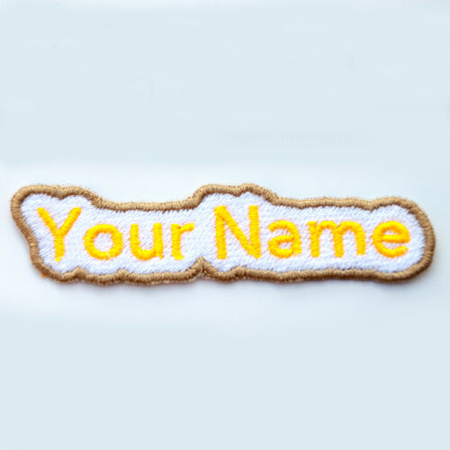 custom patch embroidery Personalised Embroidered patch