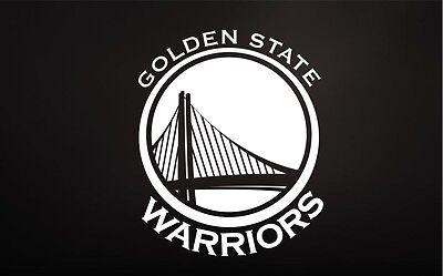 Golden State Warriors Vinyl Sticker Decal *SIZES* Cornhole Truck Wall Bumper Car
