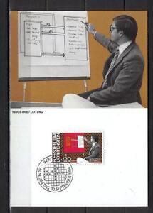 Maxi Card A95 Liechtenstein 1984 People Jobs industry leadership