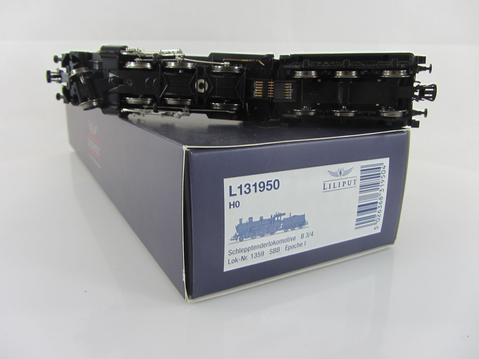 Liliput l131950 l131950 l131950 VAPORE B 3/4 1359 delle SBB, come nuovo e con imballo originale 267b78
