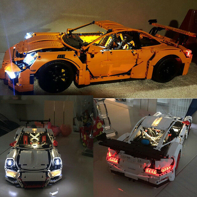 LED Light Kit for Lego Technic 42056 Porsche 911 GT3 RS Lighting USB &BatteryBox