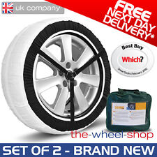 Silknet 30 Car Snow Socks XX-S for 145/65 R15 / 145 65 15 Tyre  Free Delivery