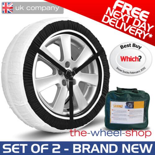Silknet 100 Car Snow Socks 255//55 R19 Tyre Free Delivery