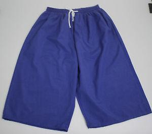 Ninos-Shorts-Bermudas-Cortos-3-4-Pantalon-Groesse-140-azul-real