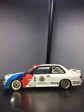 Tarmac Works 1:64 BMW M3 DTM 1987 #1 Marc Hessel //Tour de Corse 1987 Winner #10