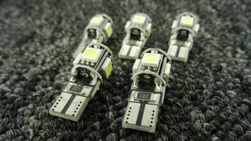 VAUXHALL CAR LIGHT BULBS LED 5 SMD XENON