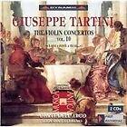 Giuseppe Tartini - : The Violin Concertos, Vol. 10 (A rivi a fonti a fiumi..., 2003)