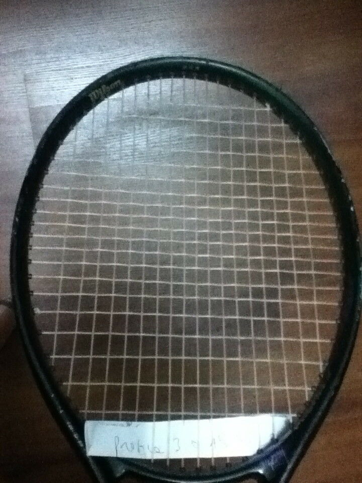 WILSON PROFILE 3.0 AIRE SHELL 95 MIDPLUS STRUNG TENNIS RACQUET 4-1 4  FREE SHIP