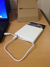 External White USB Slim 8x DVDRW DL DVD CD RW Burner Writer Drive All PC & Mac M