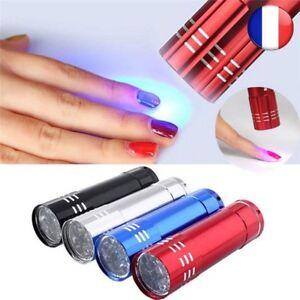 Mini LED Lampe Poche UV Portable Nail Gel Rapide Sèche-Cure Manucure Outil