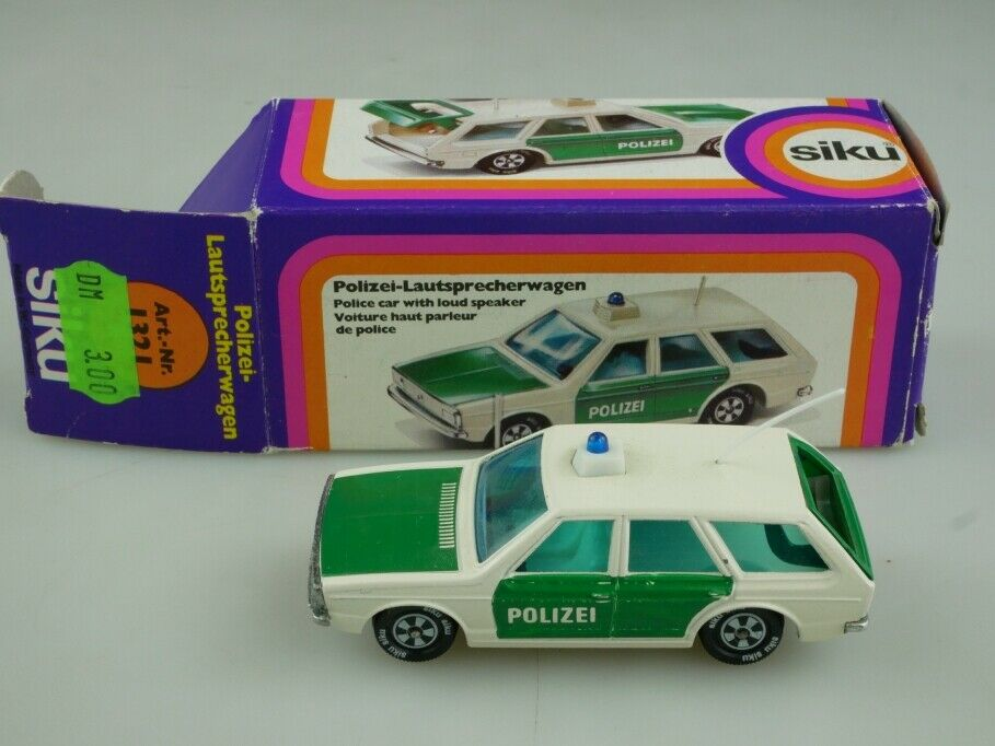 1321 Siku 1 55 VW Passat Variant Polizei Lautsprecherwagen mit Box 513769