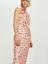 BNWT Topshop Pink jacquard Pollka  Slip Midi Dress 10 12 16