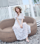 Spring-Women-039-s-Boho-Floral-Print-Maxi-Dress-V-neck-Chiffon-Slim-Long-Dresses thumbnail 4