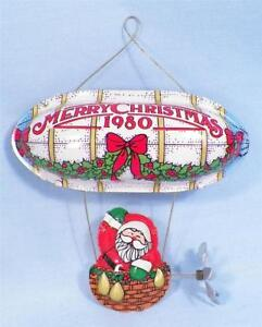 Santa's Flight Hallmark Christmas Ornament 1980 OB Vintage ...