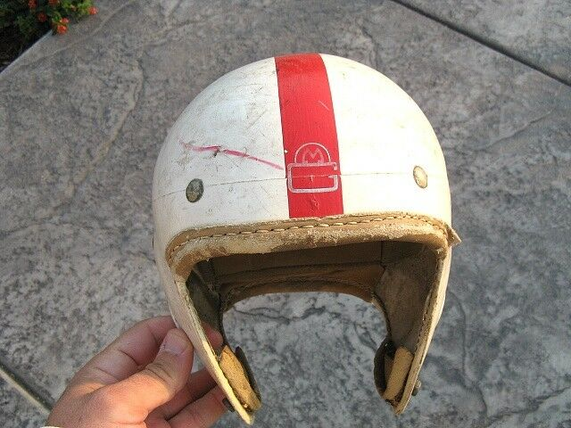 Antique Vintage MacGregor E684 L Suspension Football Helmet
