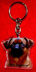 porte-cles-chien-petit-brabancon-6-dog-keychain-llavero-perro-schlusselring-hund
