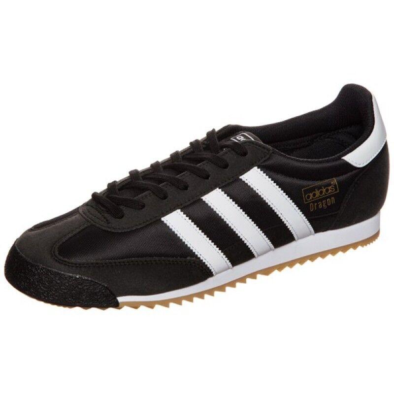 ADIDAS Dragon Og Junior Donna Nuovo by9698 nero gr 37 Retrò Vintage scarpe da ginnastica Samba