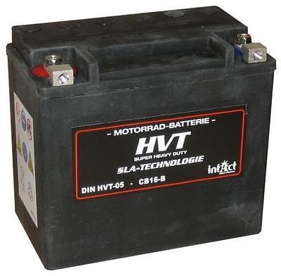 Intact Bike-Power HVT Motorradbatterie HVT-05 19Ah YB16-B
