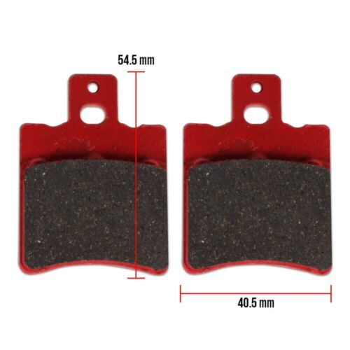 NCY PERFORMANCE BRAKE PADS FOR RUCKUS with NCY FRONT END KITS