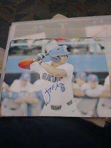 Jonathan India Florida Gators Baseball Signed 8x10 Photo MLB Cincinnati Reds