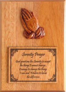 madera-Manos-Rezando-oracion-de-la-serenidad-PLACA-DE-PARED-REGALO
