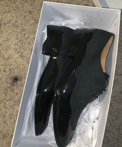 maison martin margiela Suede Dress Shoes