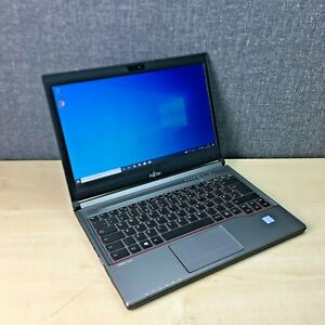 Fujitsu LifeBook E736 Laptop, i5-6300U @ 2.4GHz, 16GB RAM, 500GB HDD, Win 10 Pro
