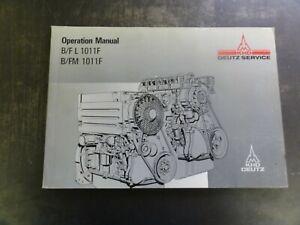 Deutz-B-F-L-1011F-B-FM-1011F-Engine-Operation-Manual