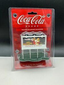 Coca-Cola-Shield-Road-Sign-Holliday-Billboard-Collection-Top-Condition