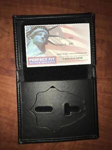 Perfect Fit Badge Wallet Style 104 Cut 496
