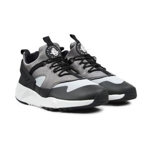 new style 58e44 a94d5 Image is loading NIKE-AIR-HUARACHE-UTILITY-TRAINERS-UK9-BASE-GREY-