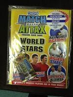 Topps Match Attax World Stars Season Trading Card Game Starter Pack