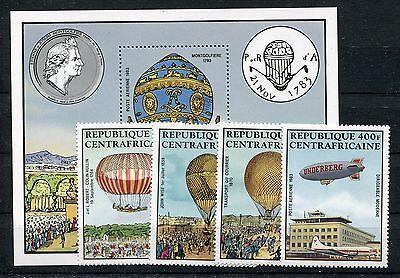 Willensstark Zentralafrika 938/41 Block 236 Postfrisch Ballone ......................1/3649 Produkte Werden Ohne EinschräNkungen Verkauft Briefmarken