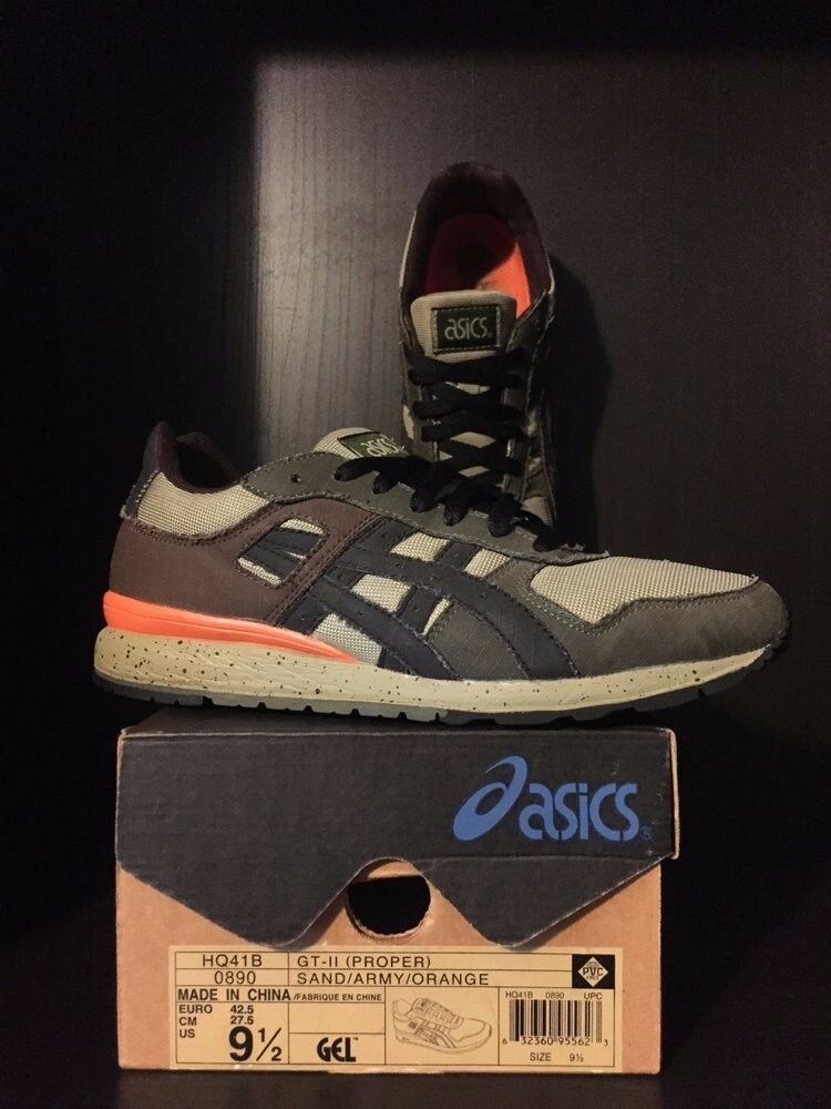 2004 - Proper x Asics GT-II - 2004 Size 9.5 - EXTREMELY RARE!!!!! bc86ab