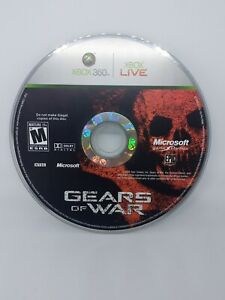 Gears of War Microsoft Xbox 360 - NTSC - CD Only Work Perfectly