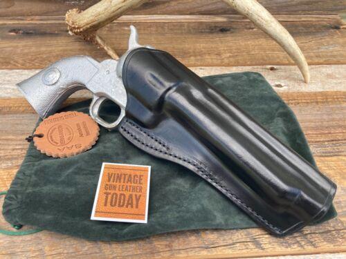 Details about  /Red Nichols Berns Martin Western Horsehide Holster SA Revolver 5 1//2 Black